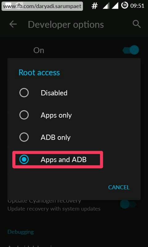 How to Enable Root or Superuser Access on CyanogenMod Based ROM