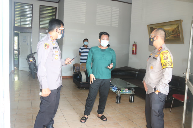 Kapolda Jambi Tinjau Tempat Isolasi Untuk Pasien Covid-19 di Kota Jambi