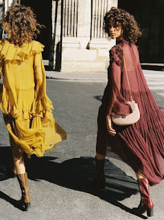 Flowy dresses for fall