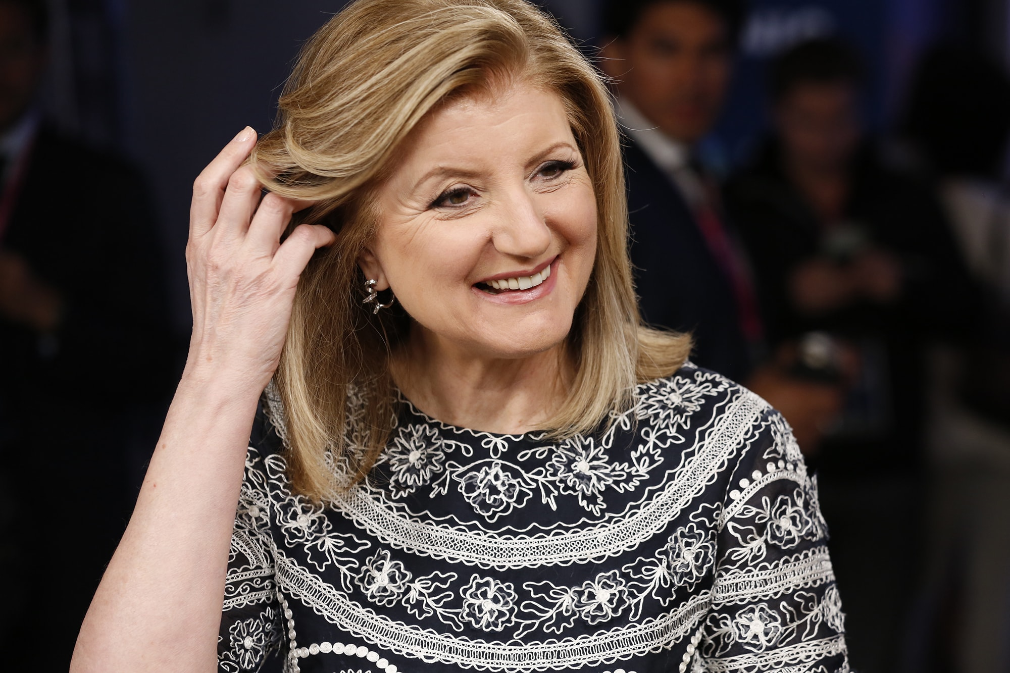 Arianna Huffington via CNBC