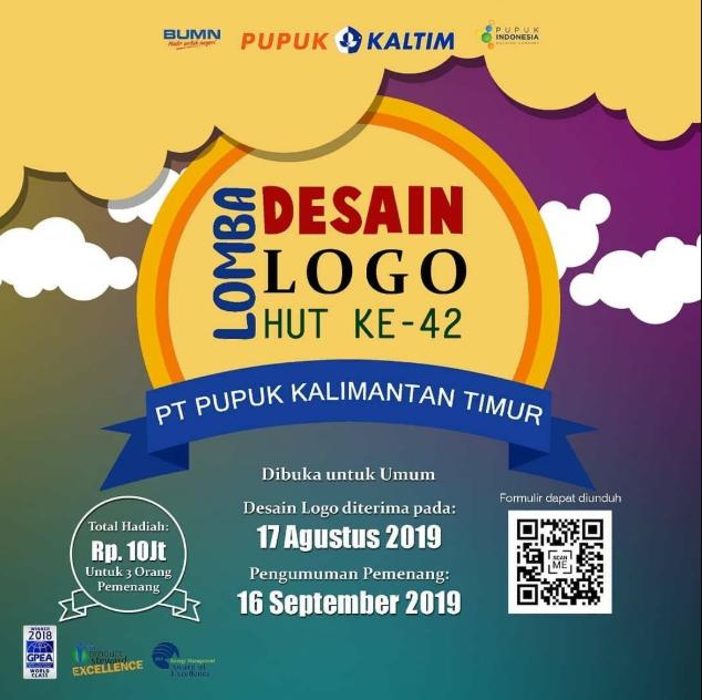 Lomba Desain Logo Gratis Nasional 2019 di Pupuk Kaltim