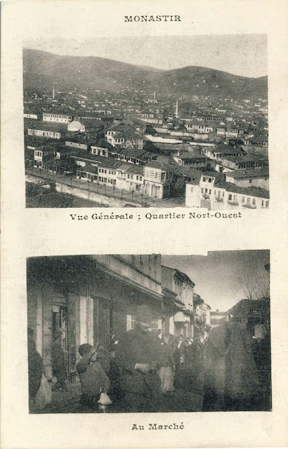 """Two part postcard, by an unknown French publisher called """"Campagne D'Orient 1914-1918"""""""