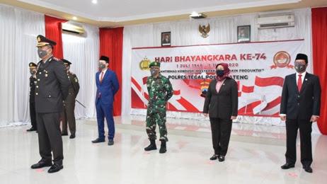 HUT Ke-74 Bhayangkara, Wakil Bupati Tegal Sabilillah Ardie : Polri Semakin Promoter