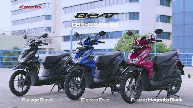 Jenis Produksi Motor Honda Beat Terbaru!
