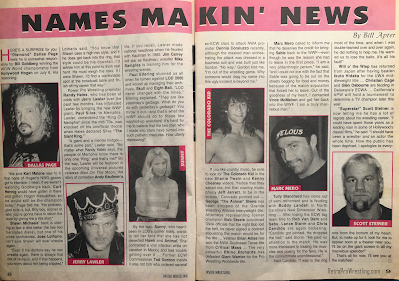 Inside Wrestling  - November 1998 - Names Makin' the News with Bill Apter