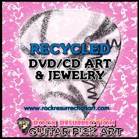 Recycled DVD/CD Art & Jewelry