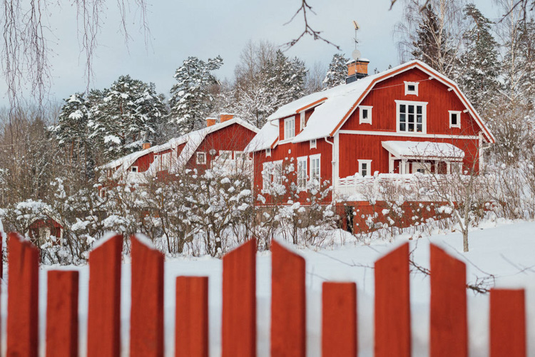 This Fairytale Swedish Country Home Could be Yours!