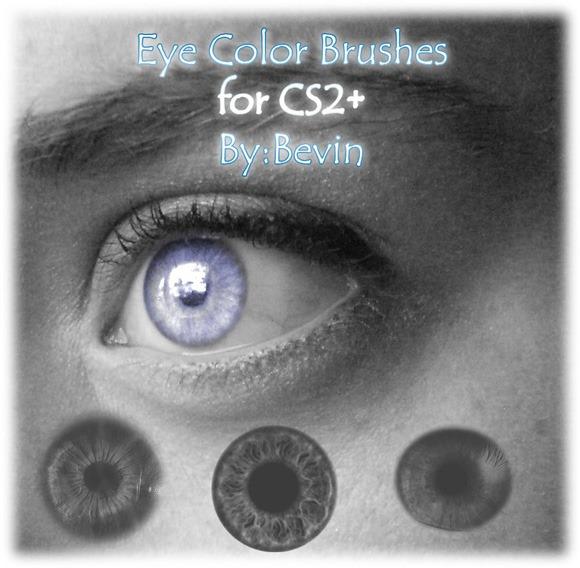 30 Sets Of Eye Brushes For Photoshop Eyelash Iris Eye Shadow