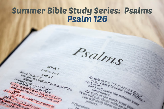 Psalm 126:  God Loves You