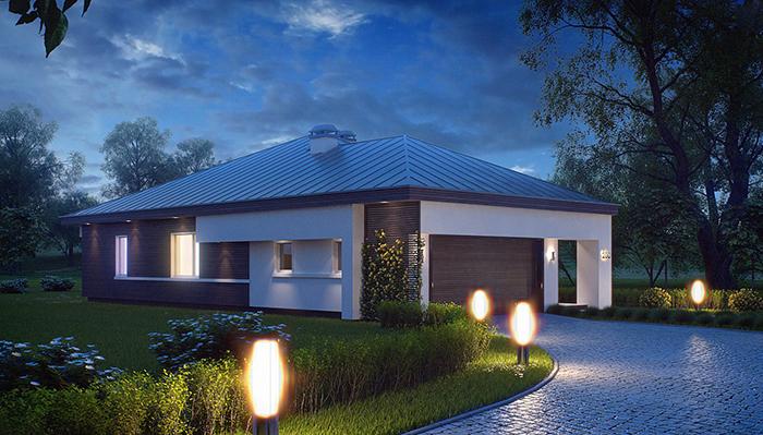 Mẫu thiết kế kiến tr biệt thự nghỉ dưỡng nhà vườn 132m2- 2
