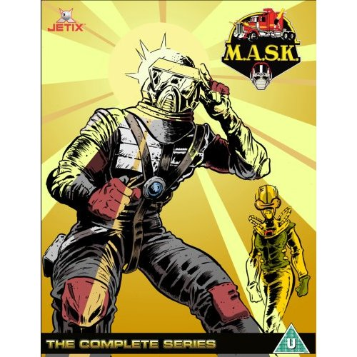 M.A.S.K. Home Video Cover Art