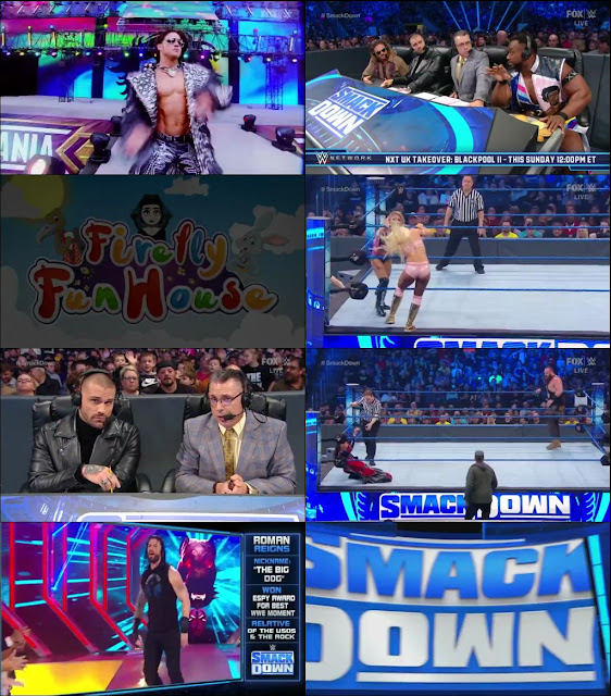 WWE Smackdown Live 10 January 2020 480p HDTV