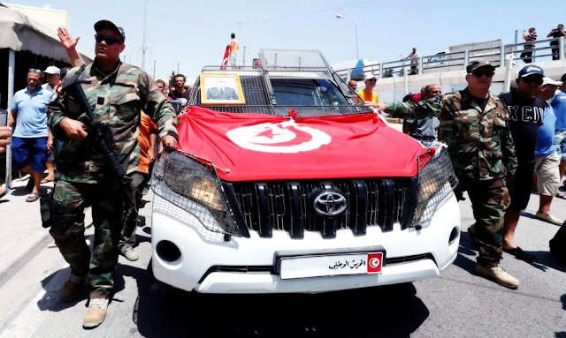 le jour du 64e anniversaire de la Garde nationale ... L'adjudant Sami Mrabet tombe en martyr