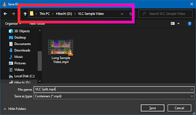 Croben.com  Split Videos In VLC Step 12
