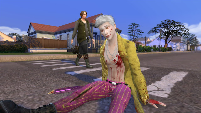 DBD Trickster Cropped Pants Sims 4 CC Download