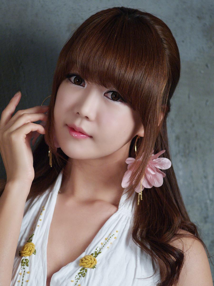 Korean Girl Ahn Ji Young  Aruysuy-9818