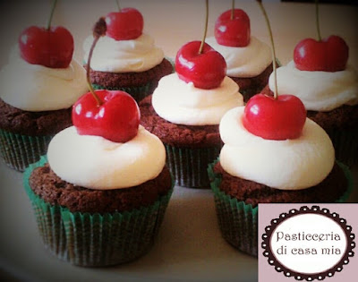 cupcakes con frosting mascarpone
