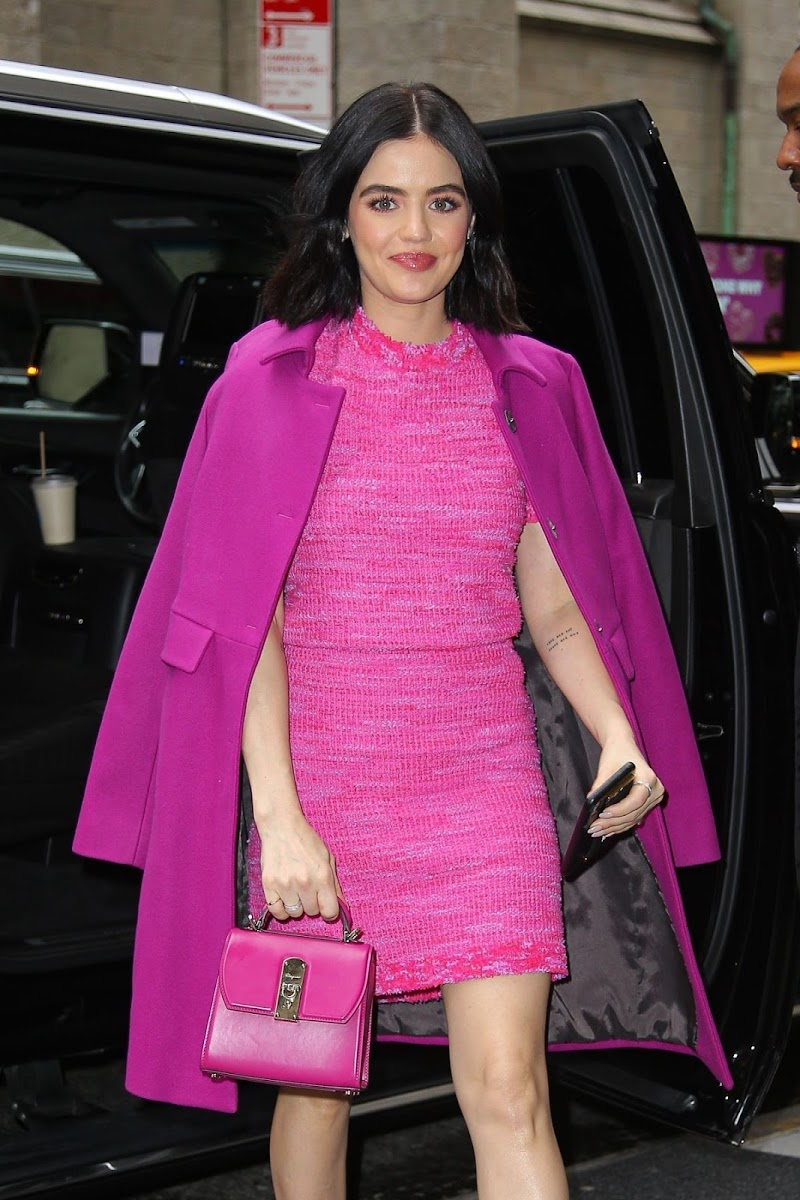 Lucy Hale Celebrates Katy Keene Windows at Saks Fifth Avenue in New York 5 Feb-2020