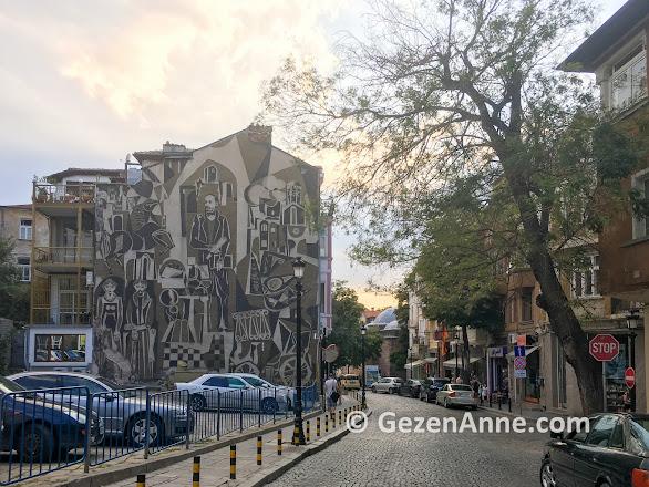 Plovdiv sokakları, Bulgaristan