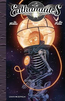 Couverture du comics Les Euthanautes chez Graph Zeppelin