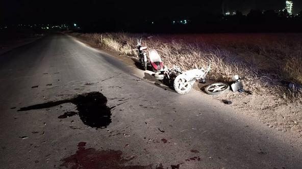 حادث مرور خطير بمنطقة الأرض البيضاء بالشطية