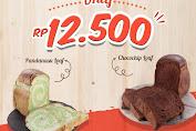 Breadlife Promo Pandanasu loaf/Chocochip Loaf hanya Rp 12.500