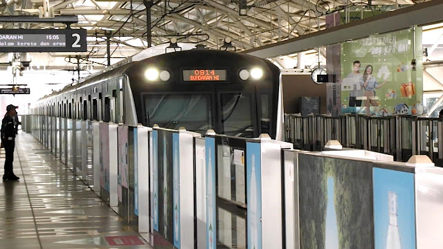 MRT Jakarta: Alternatif Manasik Aturan Main MRT Sebelum ke Luar Negeri