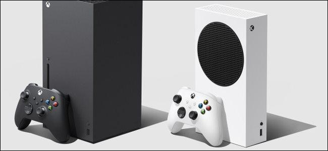 وحدات تحكم Xbox Series X و S.