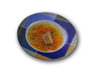Cazuela de carne y verduras