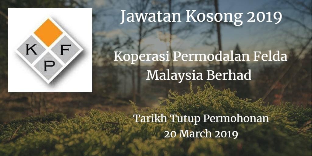 Jawatan Kosong KPF 20 March 2019