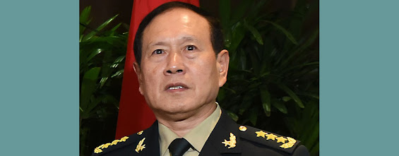Chinese Defense Minister Wei Fenghe. File photo.