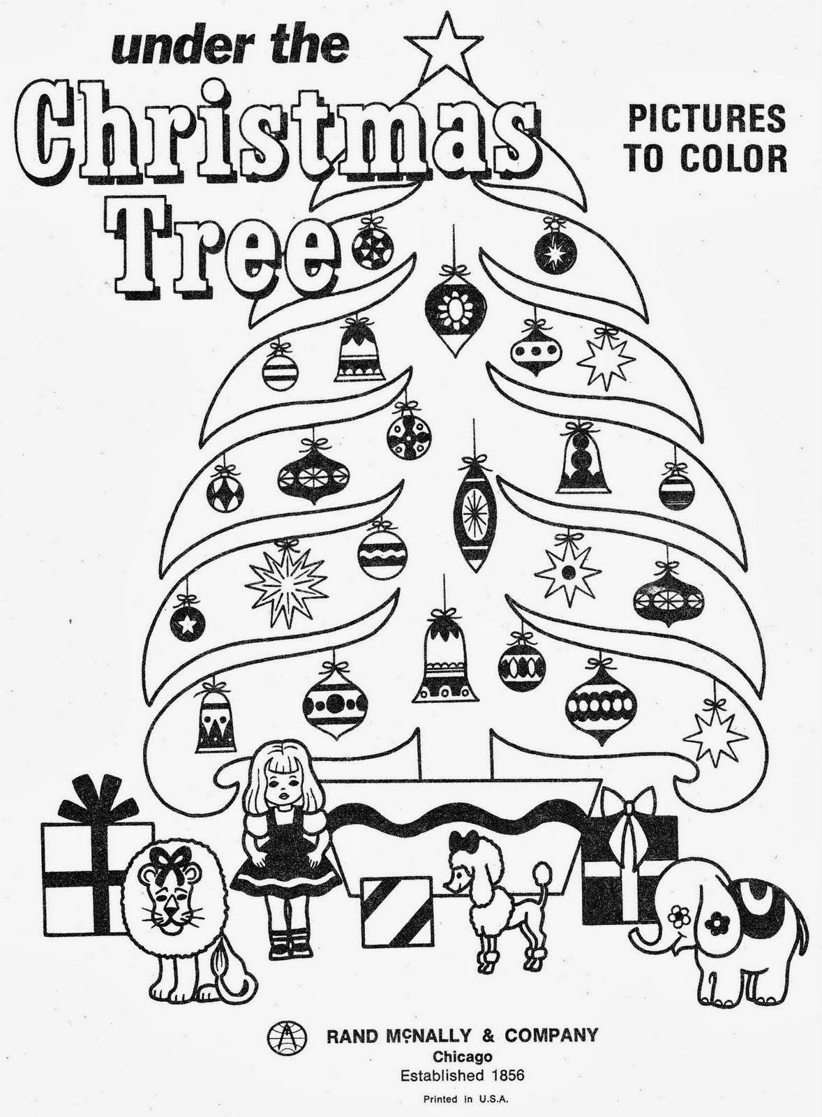 imagens para colorir de natal e ano novo