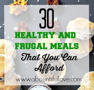 Frugal and Healthy Recipes