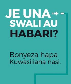 Wasiliana Nasi au Tusikilize Radio Kwizera Kwa Masafa Haya Na Online Bofya Hapa.