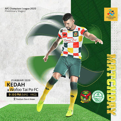 Senarai Penuh Pemain Kedah FA 2020