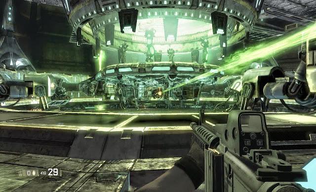Area 51, Game Horror Bercapur Shooting