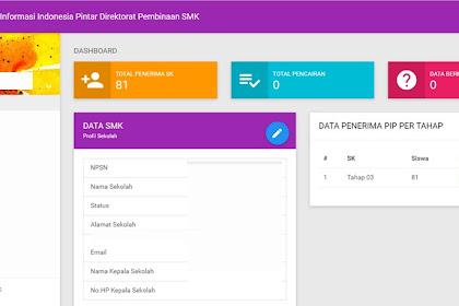 Sistem Informasi PIP SMK (SIIP SMK) 2017