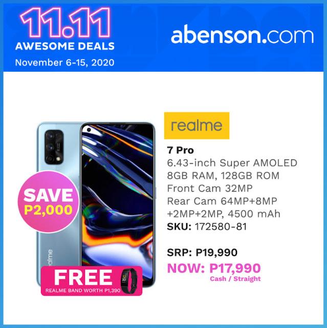 Abenson.com realme 7 Pro