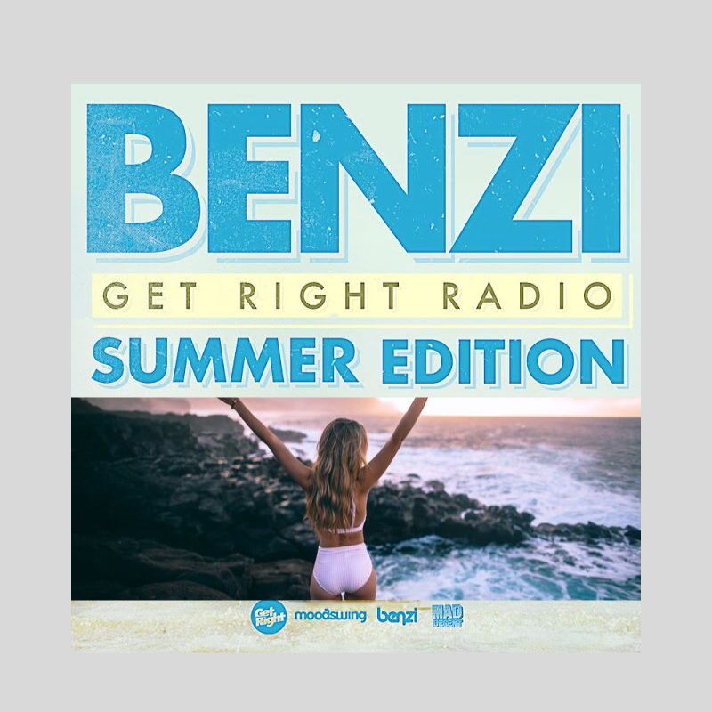 DJ  Benzi | Get Right Radio -Summer 2013 Edition | Mixtape ( Stream und Download )