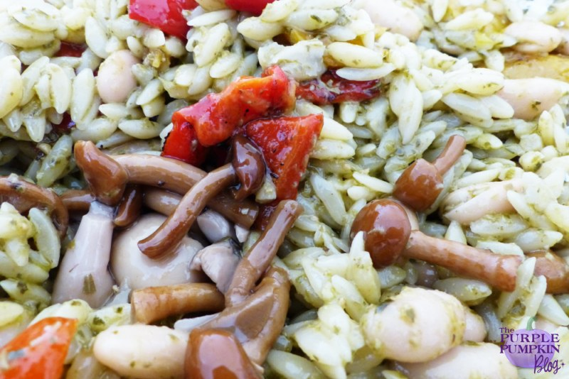 Pesto, Orzo & Cannellini Bean Salad