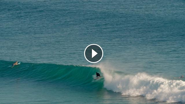 Surfing Pumping Kirra Greenmount Thursday 4th February 2021