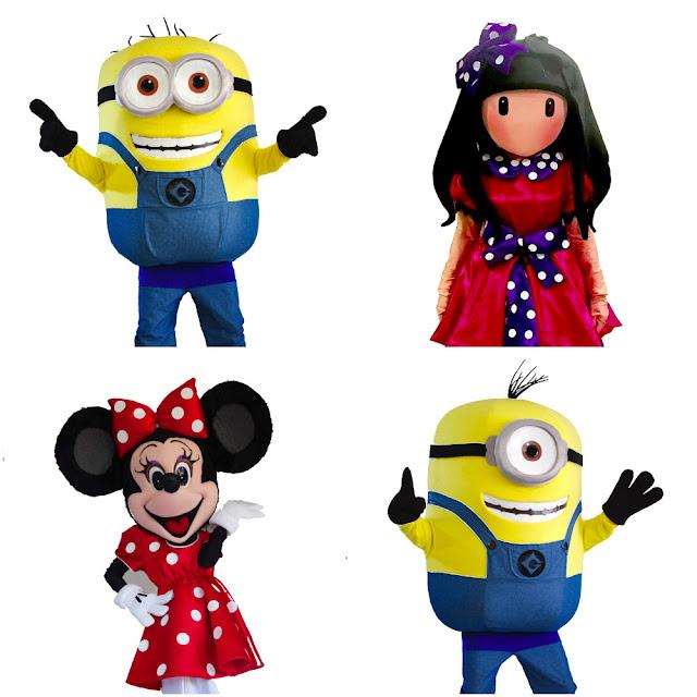 Alquiler de Personajes Infantiles para cumpleaños y eventos