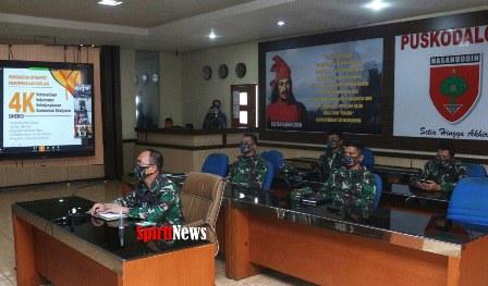 Pangdam Mayjen TNI Andi Sumangerukka, Harapkan Seluruh Elemen Masyarakat Bersatu Hadapi Covid-19