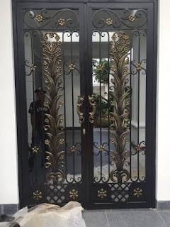 pintu besi tempa, pintu head besi tempa, pintu double besi tempa (3)
