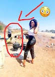 A Young Lady Posted a Photo Advertising Her Business But Mzansi Noticed Something Else. See Comments