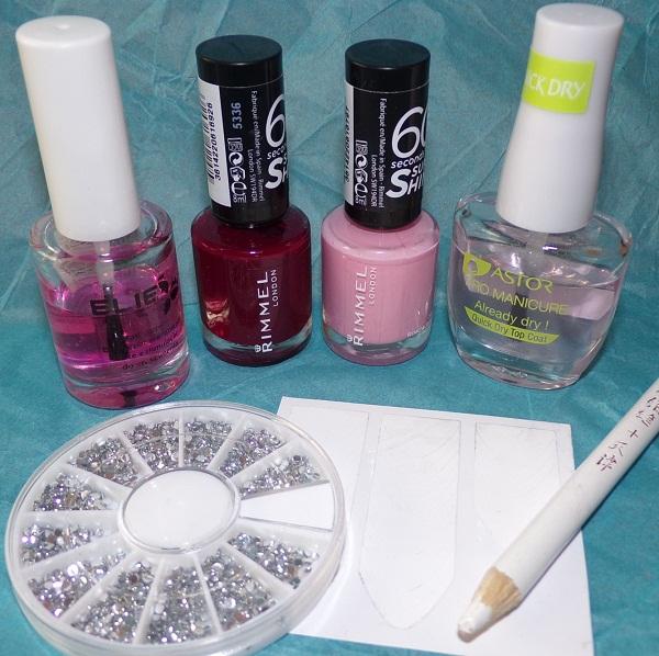Esmaltes de la manicura