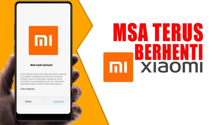 MSA Terus Berhenti Xiaomi
