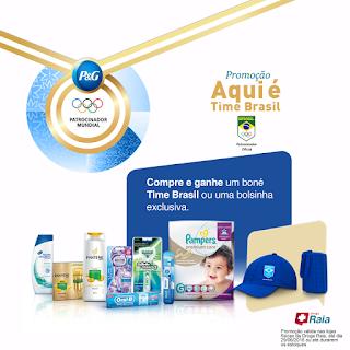 Promoção Droga Raia Aqui é Time Brasil