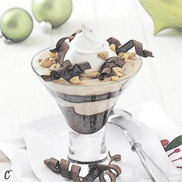 Peanut Butter Chocolate Parfait