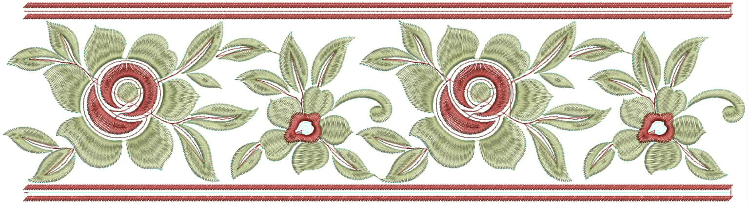 Embdesigntube Embroidery Designs For Sarees Border 2012